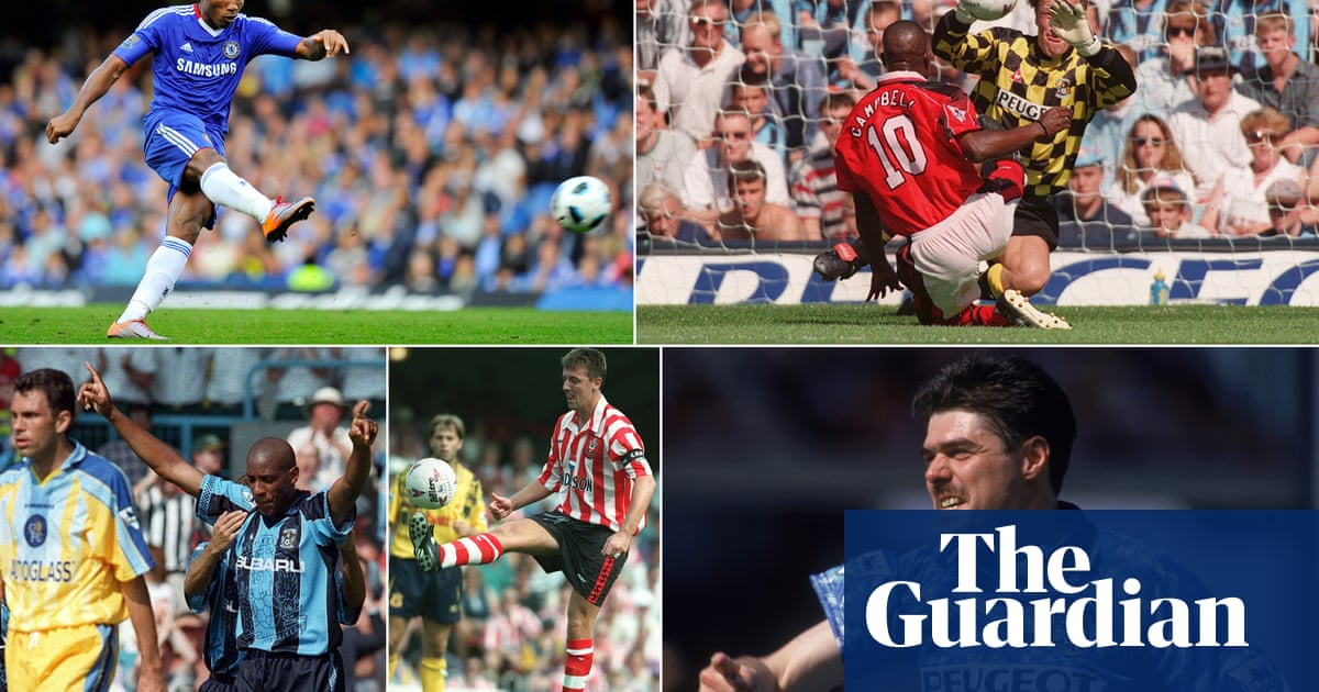The players who have hit hat-tricks on Premier League opening weekends