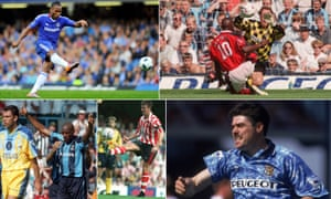 Didier Drogba, Kevin Campbell, Micky Quinn and Matt Le Tissier have all hit hat-tricks on the opening weekend.