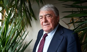 The French writer and film-maker Claude Lanzmann
