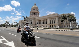 Havana's Capitol building.