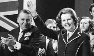 Francis Pym and Margaret Thatcher