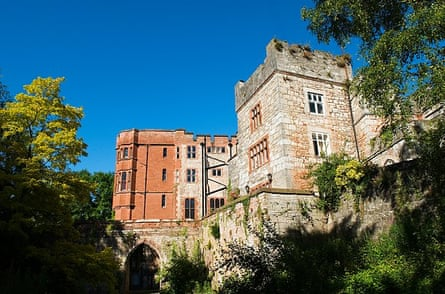 Ruthin castle, home of Lord de Grey
