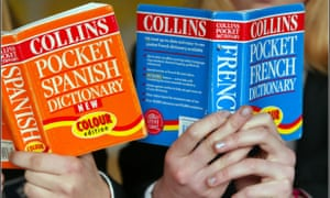 Spanish and French dictionaries