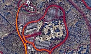 The George Bush Center for Intelligence in Langley Virgina.