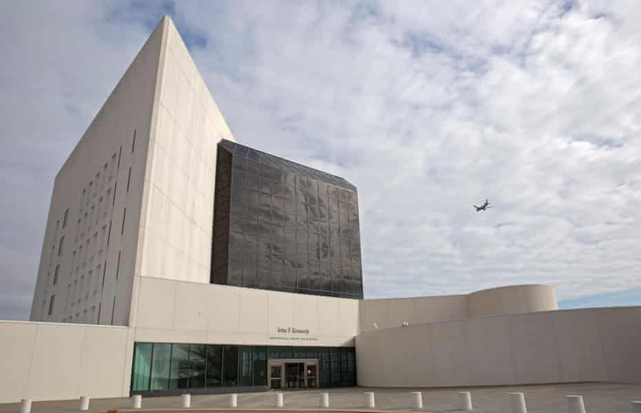The John F Kennedy Library and Museum in Boston, Massachusetts.
