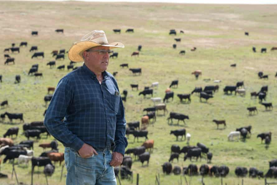 Dan Probert on the Zumwalt prairie: 'The day I left I wanted to come back.'