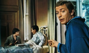 Breaking the fourth wall ... Michael Caine in Alfie