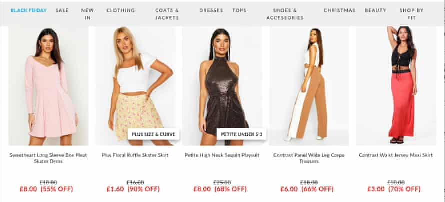 The Boohoo £1.60 skirt