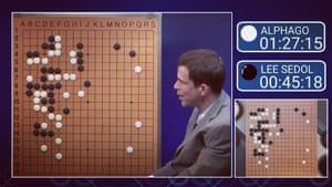 Match 3 of AlphaGo vs Lee Sedol in March 2016.