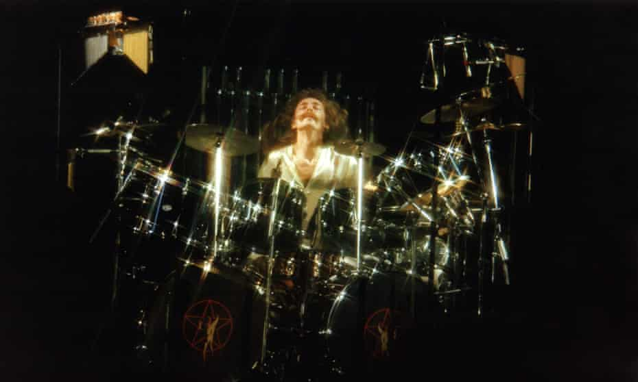 Neil Peart of Rush performs in London in 1978.
