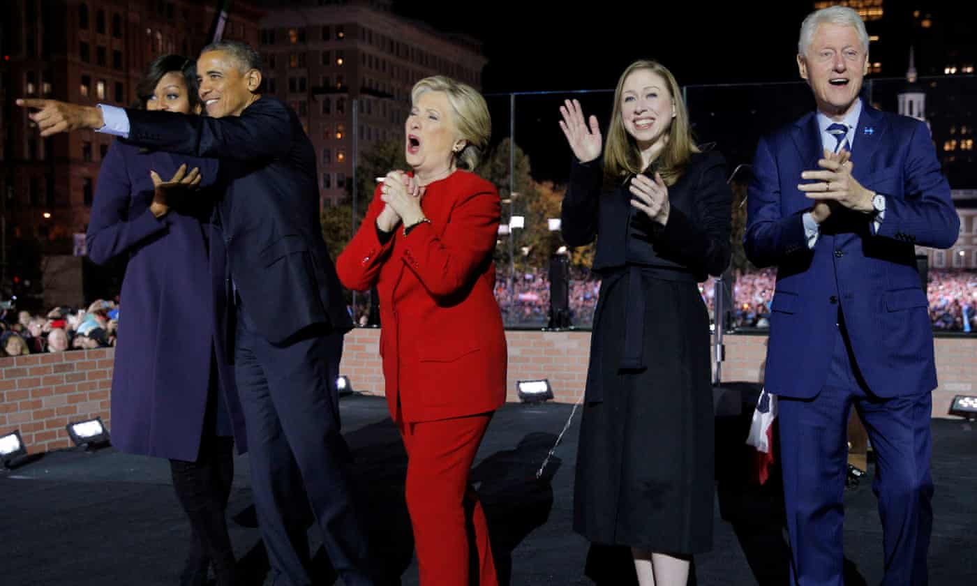 Hillary and Chelsea Clinton to form film and TV production company