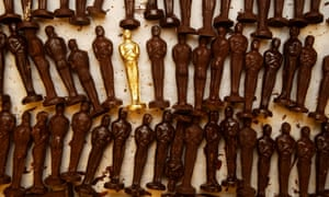 Ready for their gold leaf ... Puck's legendary chocolate Oscars