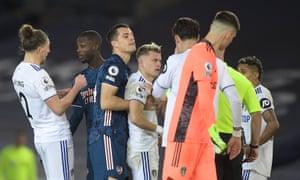 Leeds United 0 0 Arsenal Premier League As It Happened Football The Guardian