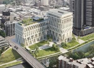 The planned Powerhouse Parramatta museum, designed by Moreau Kusunoki and Genton.