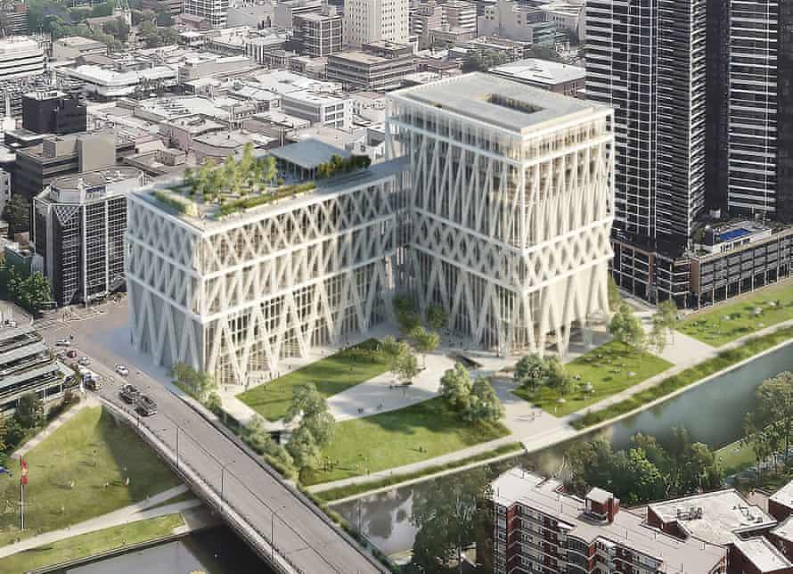 The Moreau Kusunoki/Genton Powerhouse Parramatta design.