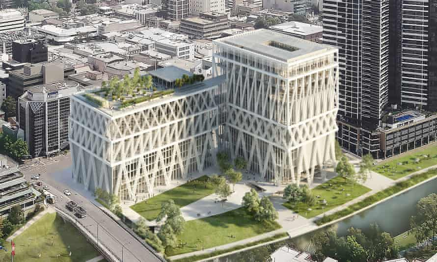 The planned Powerhouse Parramatta musuem.