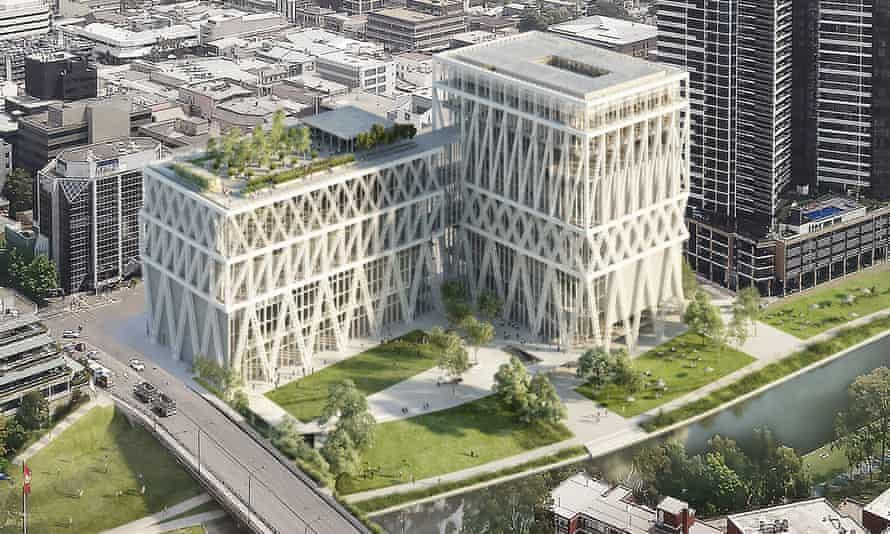 The planned Powerhouse Parramatta museum