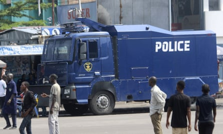 Police have been out in force in the capital, Kinshasa, and elsewhere in DRC.