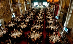 The Man Booker awards ceremony