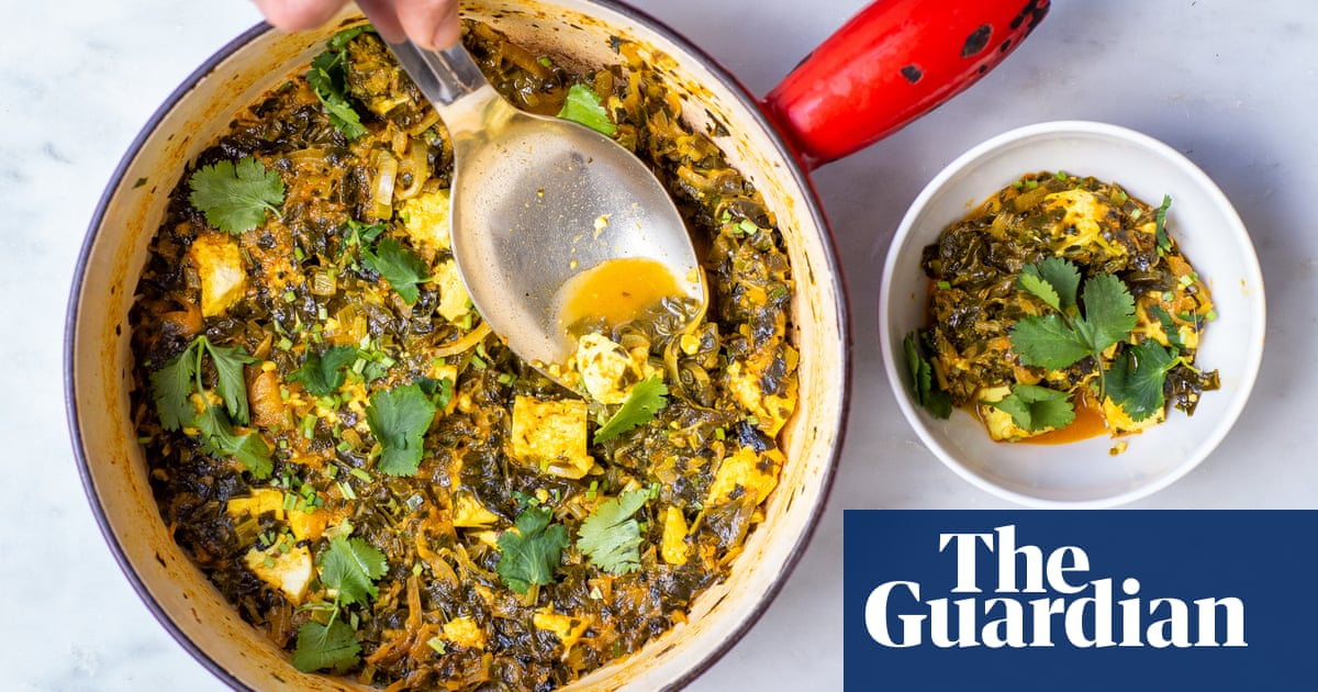 How to turn cooked spinach into saag paneer – recipe