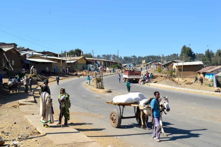 Amba Giorgis town in the North Gondar district of Ethiopia's Amhara region