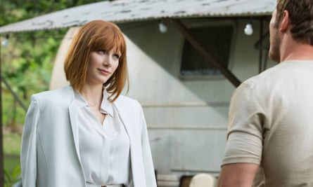 Bryce Dallas Howard as Claire, in the Jurassic World franchise.