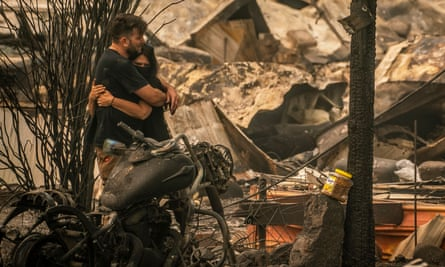 Fire crews in Oregon and California fight blazes as officials warn of further deaths