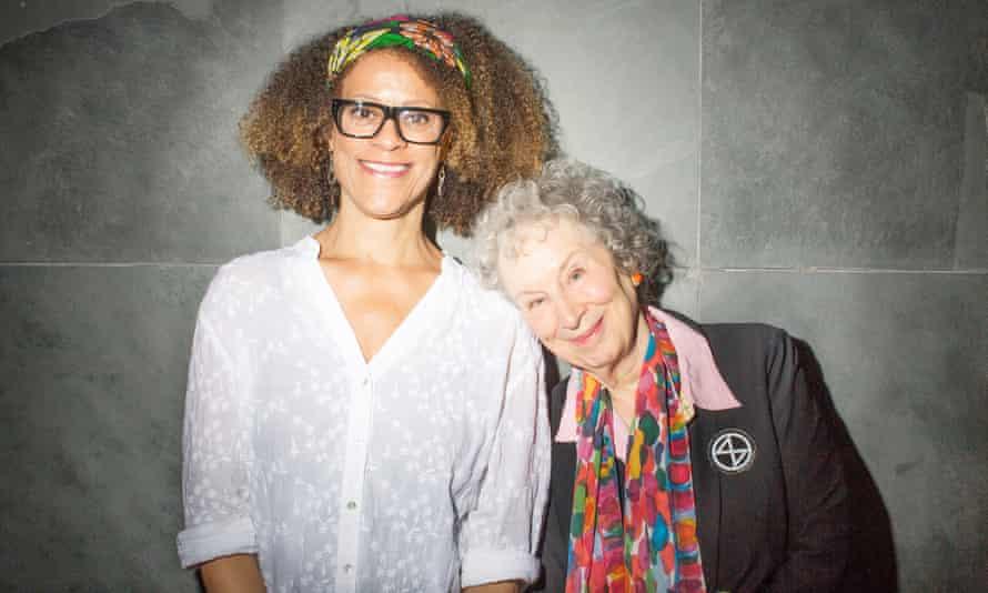 Joint 2019 Man Booker winners Bernardine Evaristo (left) and Margaret Atwood.