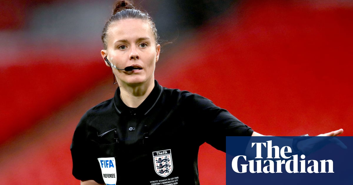 'Very exciting': Rebecca Welch the first female referee appointed to EFL match