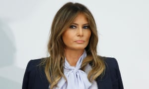 Melania Trump attends the Cyberbullying Prevention Summit in Rockville