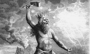Thor, son of Woden or Odin.