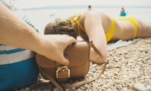 If a handbag is stolen with a phone and purse inside it could be two separate claims with an excess on each.