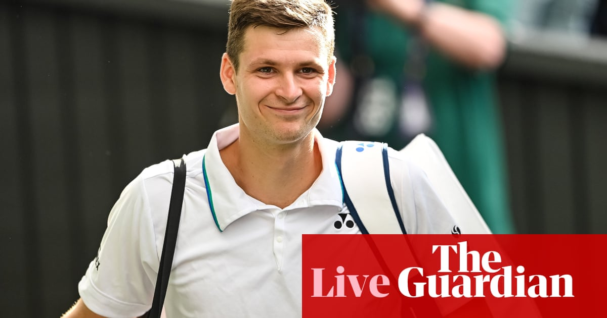 Wimbledon semi-finals: Berrettini v Hurkacz and Djokovic v Shapovalov – live!