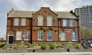 The coroner's court in Stockport, Greater Manchester.
