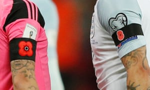 England and Scotland may have breached Fifa'S law that prohibits the wearing of political messages on players' kit.
