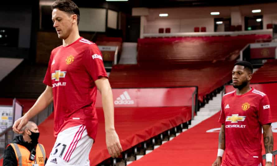 Nemanja Matic (left) and Fred (right) made United's job harder.