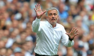 Manchester United could benefit from José Mourinho showing more of his old spark.