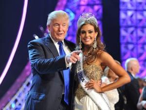 Donald Trump Miss USA