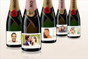 Personalised Moët & Chandon is available from Selfridges.
