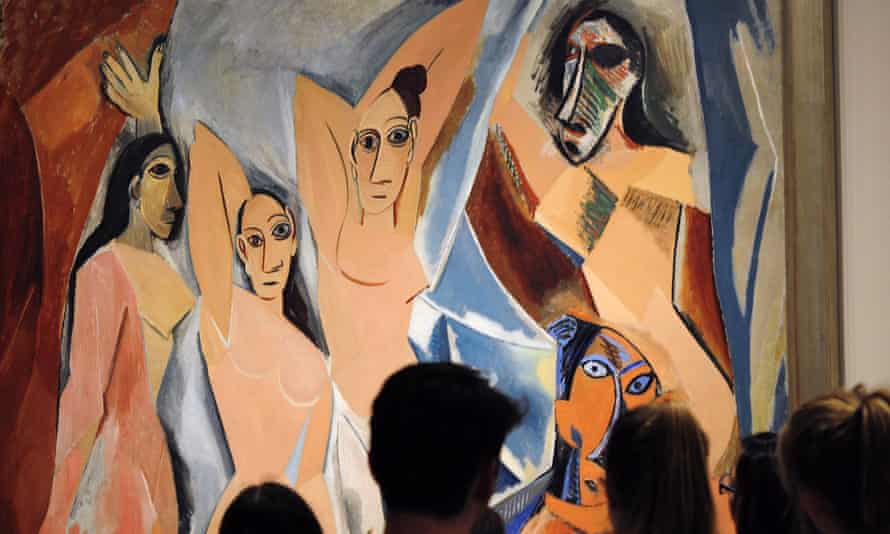 A Picasso on display at the museum in Midtown Manhattan.