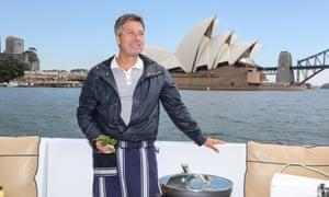Chef John Torode in Sydney.