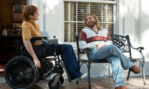 'A discordant brew' ... Joaquin Phoenix and Johah Hill in Don't Worry, He Won't Get Far On Foot.