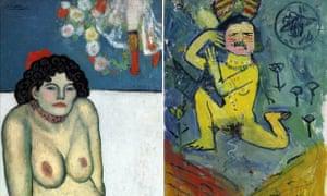 Pablo Picasso's 1901 work La Gommeuse