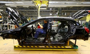 A Mercedes-Benz factory in Rastatt. German workers produce the same in four days as UK workers do in five.