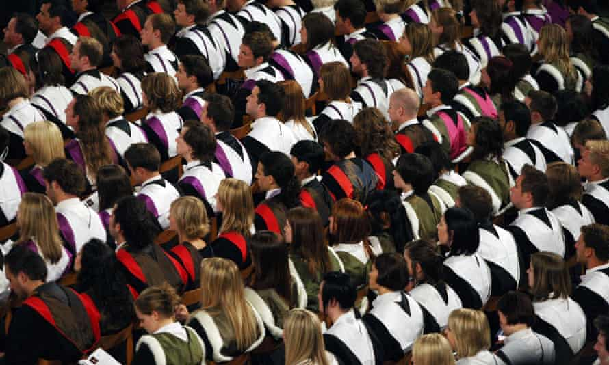 'Employers have bought into the idea that university can simply be used as a proxy for employability. For students who feel they're just buying a rubber stamp, what's the point in putting in the effort?'