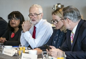 Jeremy Corbyn holds shadow cabinet meeting on 2 September