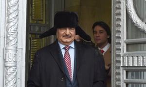 General Khalifa Haftar.