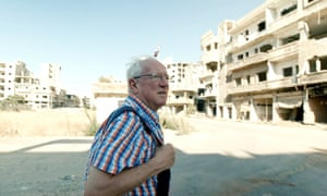 'Mostly I fear that what we write doesn't make the slightest difference' ... Robert Fisk in Syria.