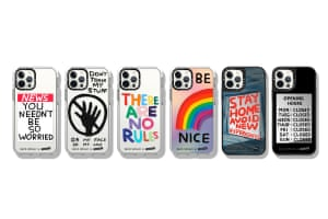 Picture thisArtist David Shrigley's dry wit and satirical quote artworks are now available as phone cases, from £32, casetify.com