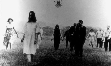 Shocking … Night of the Living Dead.